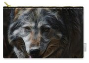 The Wolf Digital Art Carry-all Pouch