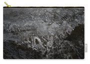 Ice Over The River Carry-all Pouch