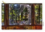 The Woods Through A School Bus Window Carry-all Pouch