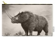 The Woolly Rhinoceros Is An Extinct Carry-all Pouch by Philip Brownlow