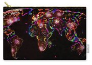 The World At Night  Carry-all Pouch by Augusta Stylianou