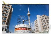 The Worldtime Clock Alexanderplatz Berlin Germany Carry-all Pouch