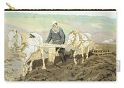 The Writer Lev Nikolaevich Tolstoy Carry-all Pouch by Ilya Efimovich Repin