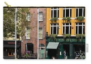 The Yellow House At The Liffey River - Dublin - Ireland Carry-all Pouch