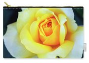 The Yellow Rose Palm Springs Carry-all Pouch