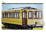 The Yellow Trolley Car Carry-all Pouch