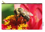 The Zinnia And The Bee Carry-all Pouch