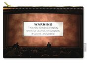 Theater Night In New York Carry-all Pouch