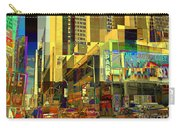 Theatre District - Neighborhoods Of New York City Carry-all Pouch