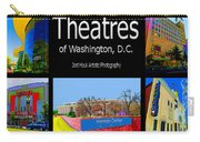Theatres Of Washington Dc Carry-all Pouch by Jost Houk