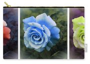 There Were Roses Triptych 2 Carry-all Pouch