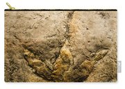 Theropod Dinosaur Footprint Carry-all Pouch