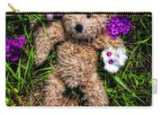 These Are For You - Cute Teddy Bear Art By William Patrick And Sharon Cummings Carry-all Pouch
