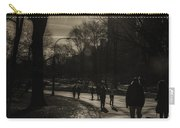 They Come To Central Park Carry-all Pouch