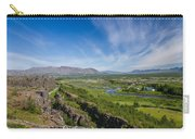 Thingvellir Iceland Carry-all Pouch