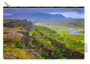 Thingvellir National Park Rift Valley Carry-all Pouch