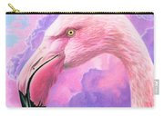 Think Pink Flamingo Carry-all Pouch