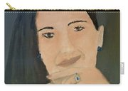 Thinking Of What To Do Next Carry-all Pouch by Pamela  Meredith