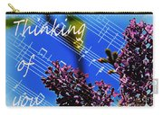 Thinking Of You  - Memories - Music Carry-all Pouch