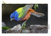 Thirsty Painted Bunting Carry-all Pouch