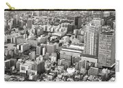 This Is Tokyo In Black And White Carry-all Pouch