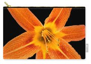 This Orange Lily Carry-all Pouch