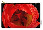 This Red Tulip Carry-all Pouch
