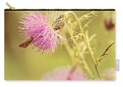 Thistle And Friend Carry-all Pouch