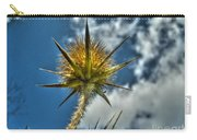 Thistle And Sky Carry-all Pouch