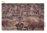 Thistle Field Carry-all Pouch