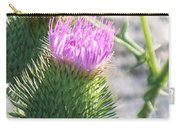 Thistle Flower Carry-all Pouch