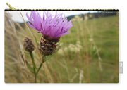 Thistle In A Swiss Field Carry-all Pouch