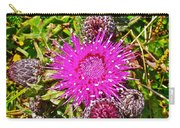 Thistle In Saint Mary's Ecological Reserve-newfoundland Carry-all Pouch