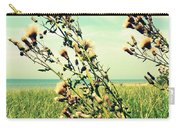 Thistle On The Beach  Carry-all Pouch