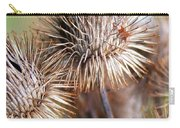 Thistle Seedheads Carry-all Pouch
