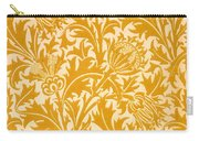 Thistle Wallpaper Design, Late 19th Carry-all Pouch