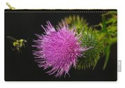 Thistle While You Work Carry-all Pouch