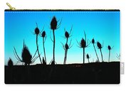 Thistles At Sunset Carry-all Pouch