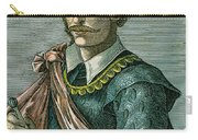 Thomas Cavendish (c1560-1592) Carry-all Pouch