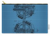 Thomas Edison Blueprint Phonograph Carry-all Pouch
