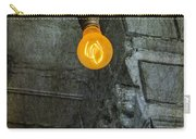 Thomas Edison Lightbulb Carry-all Pouch by Susan Candelario