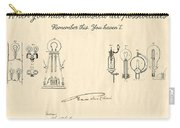 Thomas Edison Quote Carry-all Pouch