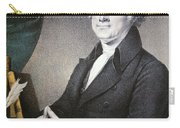 Thomas Jefferson Carry-all Pouch by Nathaniel Currier