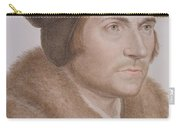 Thomas More Carry-all Pouch by Hans Holbein the Younger