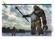 Thor And The Frost Giant Carry-all Pouch