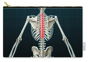Thoracic Vertebrae, Illustration Carry-all Pouch