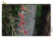 Thorns And Blooms Carry-all Pouch