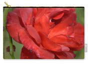Thorny Red Rose Carry-all Pouch