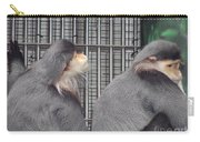 Thoughtful Monkeys Carry-all Pouch