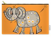 Thoughts And Colors Series Elephant Carry-all Pouch